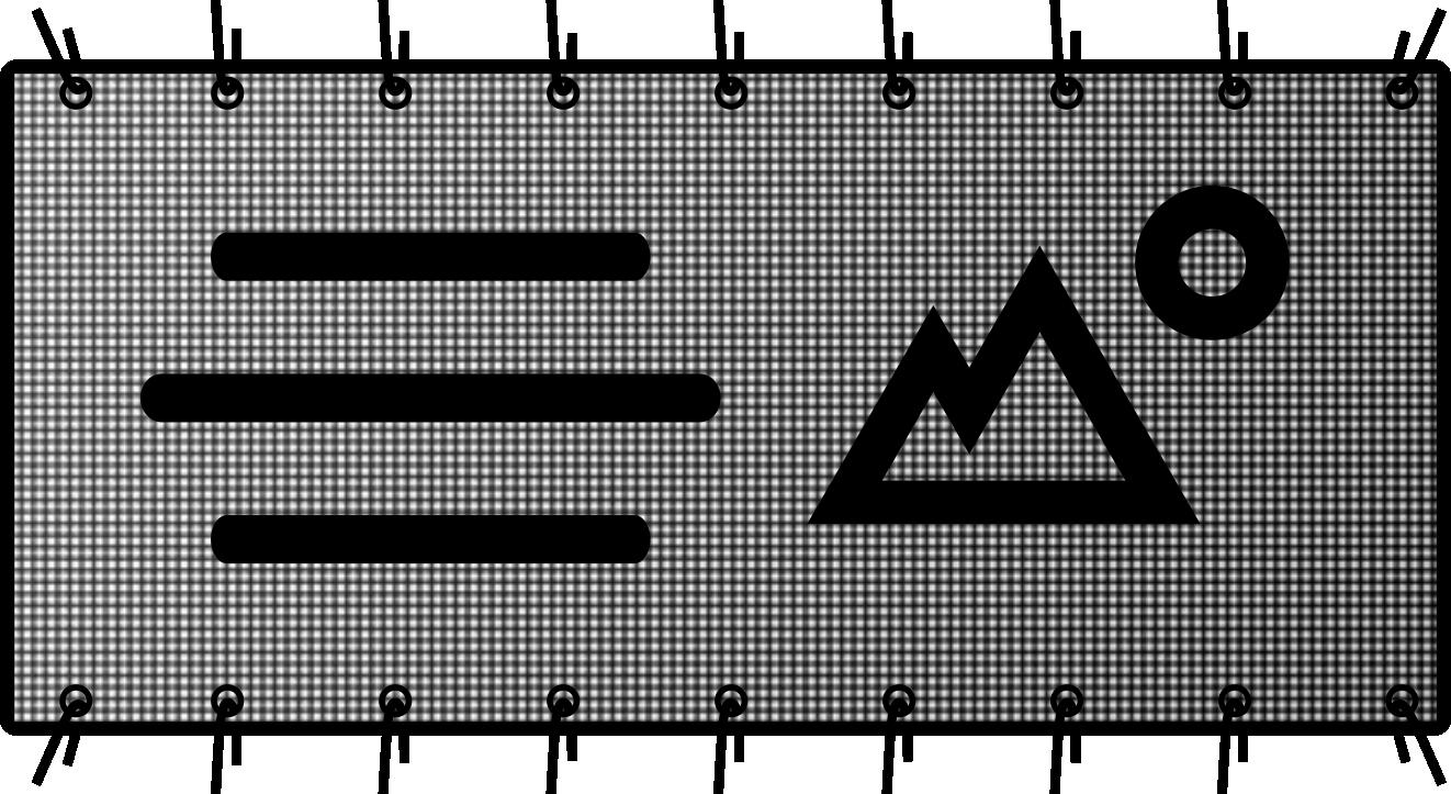 wydruki na siatce mesh