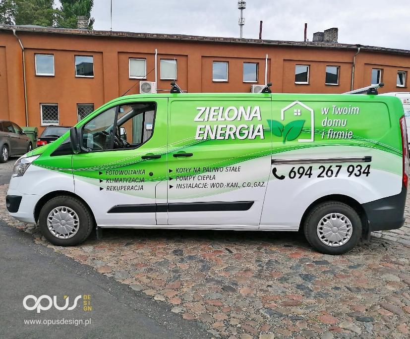 reklamowe oklejanie samodchodu ford