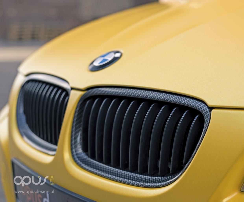opus design zmiana koloru samochodu