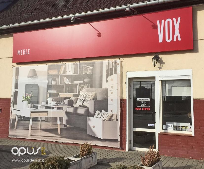 meble vox reklama sklep piła