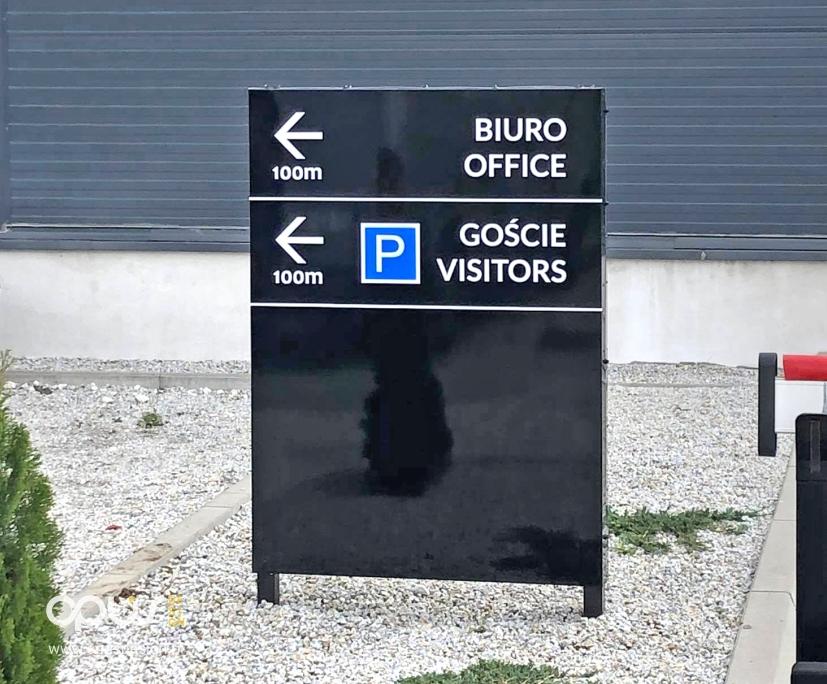 pylon parking oznaczenie piła