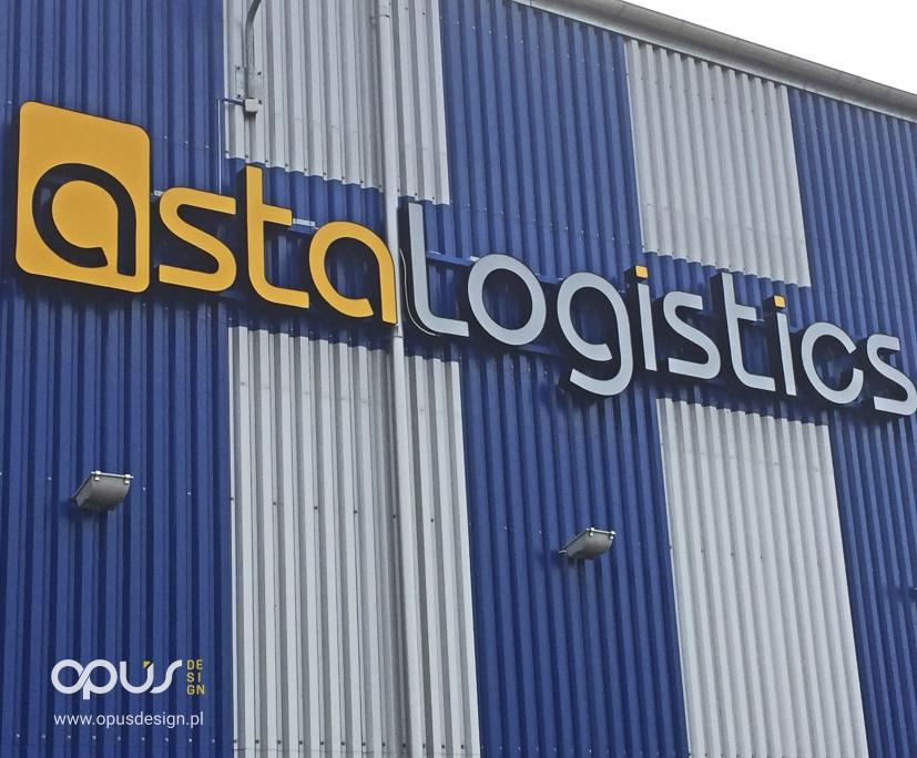 litery 3D asta logistics piła opus
